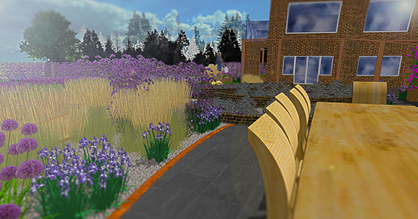 Garden design by Llewellyn Landscape & Garden Design